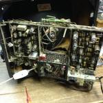 Die Herausforderung konnten wir nicht widerstehen. Ich bat Hanno den Fernseher zu reparieren.