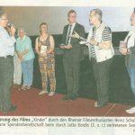 Freude herrschte über die gelungene  Spendenaktion, die unsere Gemeinschaft für ein friedsames miteinander unterstreicht. / MV Pressefoto Uhlenbrock